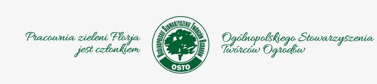 Jesteśmy członkiem Ogólnopolskiego Stowarzyszenia Twórców Ogrodów